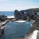 Zona Balnear do Varadouro Local: Açores Foto: Associação da Bandeira Azul Europa