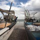 Barcos de pesca em Salema