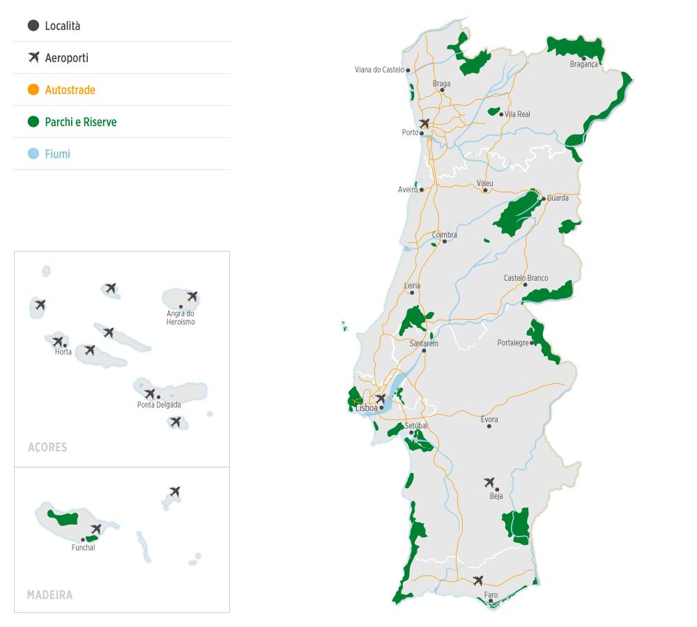 Cartina Tematica Spagna.Sobre Portugal Bi Portugal Www Visitportugal Com