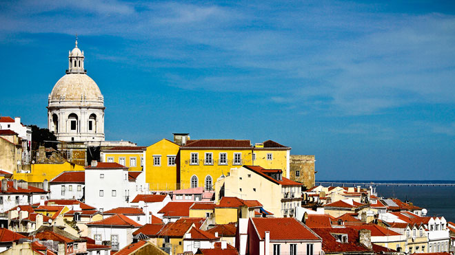 From Portas do Sol,Lisboa ©Turismo de Lisboa