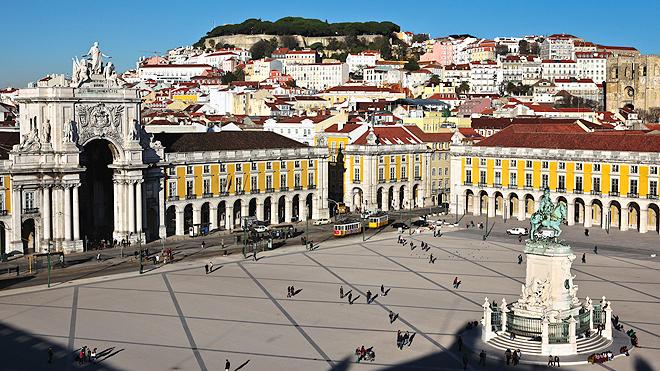 Lisboa-Praça do Comércio