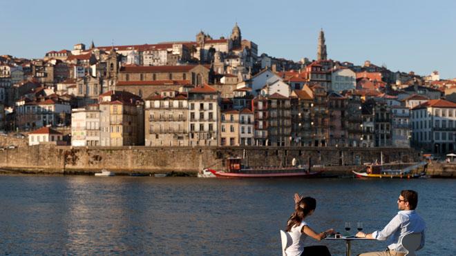 Vista para a Ribeira do Porto ©Turismo do Porto e Norte