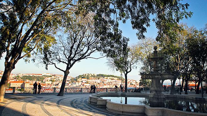Lisboa_Miradouro São Pedro Alcântara